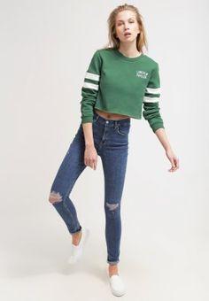 Sweatshirt - green - Zalando.de 3b8d4e148d4