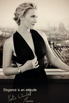 kate winslet. love her!                                                                                                                                                     More