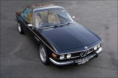 BMW E9 3.0CS with M5 E34 engine