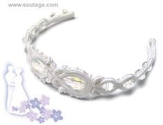 Lily of the valley bracelet - Sutasz-Anka http://www.soutage.com/2013/06/lily-of-valley-bransoletka.html