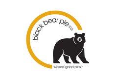 Logo Design Black Bear Pie Co. #Vancouver, #GraphicDesign, #Branding