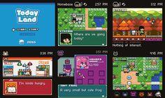 Today Land game mockups by J-em on PixelJoint