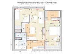 Планировка трехкомнатной квартиры - план квартиры с