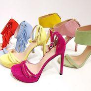 Stewart Weitzman #inourshoescampaign - choose your color!