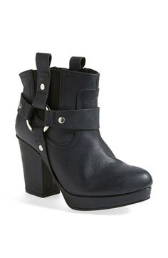 Topshop 'Alexus' Harness Boot (Women) available at #Nordstrom