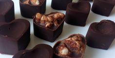 gezonde bonbons, Pure chocolade met rijstwafels of rise krispe