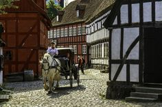 """Den Gamle By (II) - Den Gamle By – """"The Old Town"""" - is a living picture of life in Denmark as it looked in the 1700s, 1800s and 1900s"""