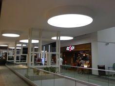 Avenue Avm Bodrum Gergi tavan led aydınlatma çalışmalarımız.