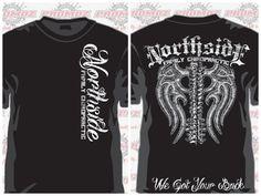 Our new t-shirt design.   What do you think? Northsidechiro@gmail.com  Http://northsidefamilychiropractic.com