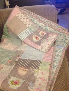 tilda disappearing 9 patch quilt