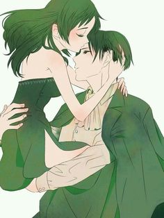 Attack on Titan-Levi x Fem!Eren  Eren's genderbend really reminds me of myself, but with short hair....