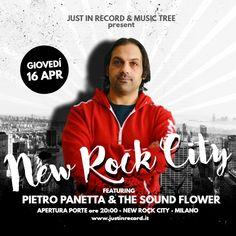 🔥🔥 Pietro Panetta & The Sound Flower! Music Tree, Grunge, Punk, Live, News, Youtube, Musica, Grunge Style, Youtubers