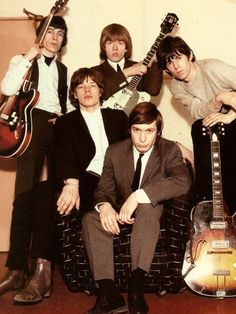 Bill Wyman, Brian Jones, Keith Richards, Mick Jagger, Charlie Watts