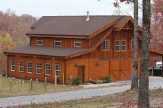 Horse Barn with Apartment | Found on barnpros.com