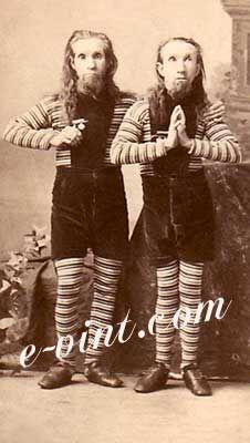 Vintage Circus Freak Show Oddities Image Detail