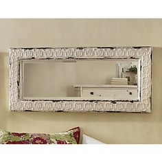 Love this mirror...Looks old but its new..