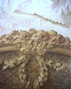Designer Jessica McClintock's beached 18th century bed