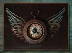 Jools Robertson: DecoArt Keeping an Eye on the Time