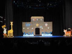 arca de Noé cenário para teatro