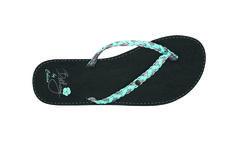 Bethany's Signature Sandal in Black  #bethanyhamilton #flipflop