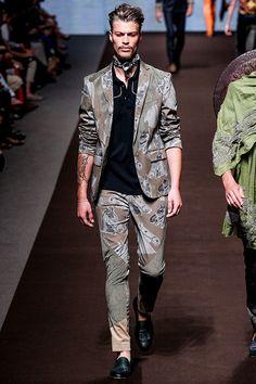 Etro Menswear - Pasarela