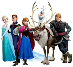 Frozen: Imágenes. Clip Art.