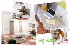 My World, Office Desk, Loft, Bed, Furniture, Home Decor, Desk Office, Decoration Home, Desk