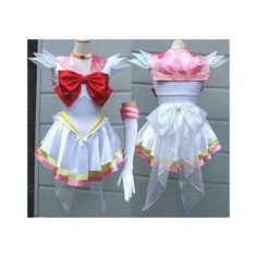 Sailor moon costume sailor moon rini chibi cosplay costume fancy dress ❤ liked on Polyvore featuring costumes, sailor moon cosplay costume, blue halloween costumes, sailor costume, sailor moon costume and sailor moon halloween costume