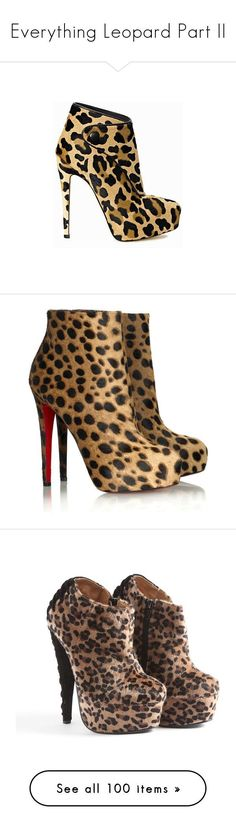 """""""Everything Leopard Part II"""" by jonnaisrikki ❤ liked on Polyvore featuring shoes, boots, ankle booties, heels, ankle boots, brian atwood boots, heeled bootie, brian atwood bootie, bootie boots and christian louboutin #brianatwoodheelslouboutinshoes"""