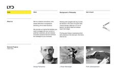 Little Yellow Duck - Web design inspiration from siteInspire
