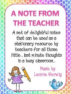 cute meet the teacher reminder postcard quote