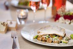 Zubáč na ružičkovom keli s gaštanmi Sandwiches, Food, Essen, Meals, Paninis, Yemek, Eten