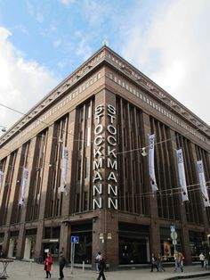Stockmann's - the biggest department store in Helsinki