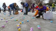 Minnesota Easter egg hunt