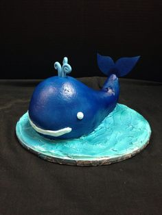 Under the sea birthday cake complete with whale birthdaycake