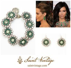 Celebrate May with Saint Vintage Emerald Jewels