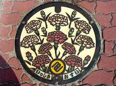 Japanese manhole covers by MRSY-7