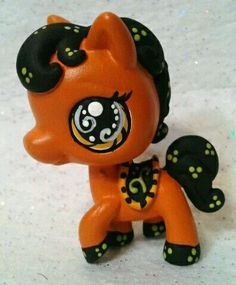 Spooky Horse * OOAK Hand Painted Custom Littlest Pet Shop