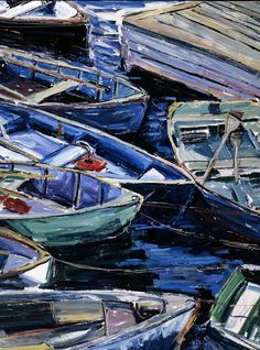 Boat Painting by Jeremy Winborg