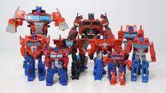 擎天柱大集合 工作室系列 Hasbro Optimus Prime family studio series #38
