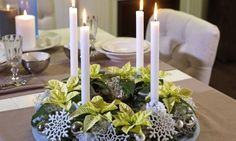Ideas que mejoran tu vida, crear un centro de mesa para navidad.
