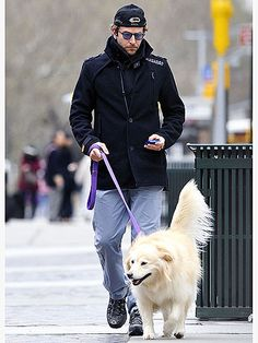Bradley and his dogs are a package deal!