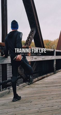 Training for life. Head over to www.V3Apparel.com/MadeToMotivate to download this wallpaper and many more for motivation on the go! / Fitness Motivation / Workout Quotes / Gym Inspiration / Motivational Quotes / Motivation