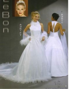 Lebon Bridal Couture #A351T White Size 16 Formal « Dress Adds Everyday