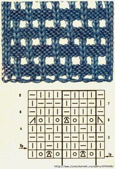 Love this basketweave-like stitch...not sure what the one symbol is, but I'll figure it out.