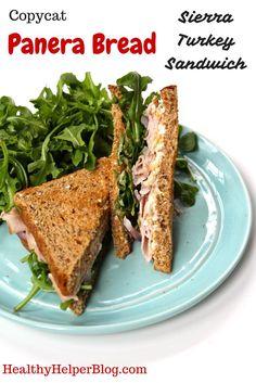 Copycat Panera Bread Sierra Turkey Sandwich