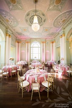 Biltmore Ballroom in pale pink by Stylish Stems  www.stylishstems.com