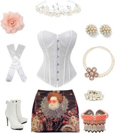 """""""White"""" by kymmer769 on Polyvore"""