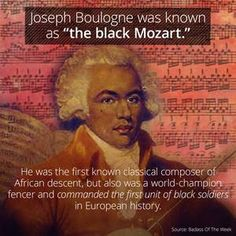 """Joseph Boulogne Was The """"Black Mozart"""" Before Mozart Was Alive"""