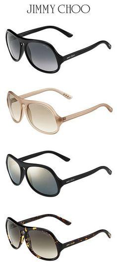 Jimmy Choo- 2012/2013 Eyewear Collection Presents Biker Sunglasses
